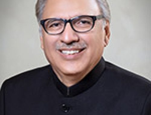 Message from Dr. Arif Alvi President of the Islamic Republic of Pakistan