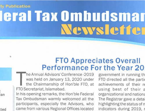 Federal Tax Ombudsman – Vol. 3 – Issue 1