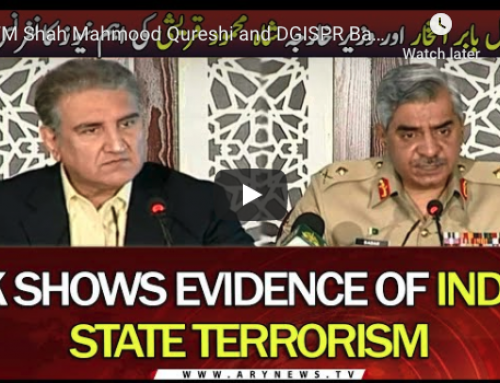 FM Shah Mahmood Qureshi and DGISPR Babar Iftikhar press conference 14.11.2020